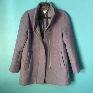 J Crew wool cocoon coat